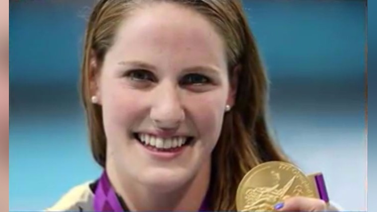 Missy Franklin training for gold in Phoenix