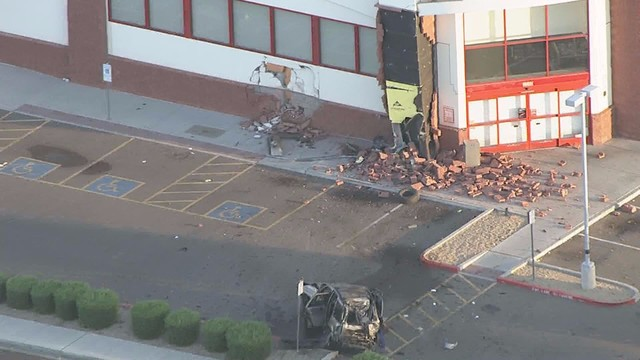driver dies after suv smashes into cvs pharmacy