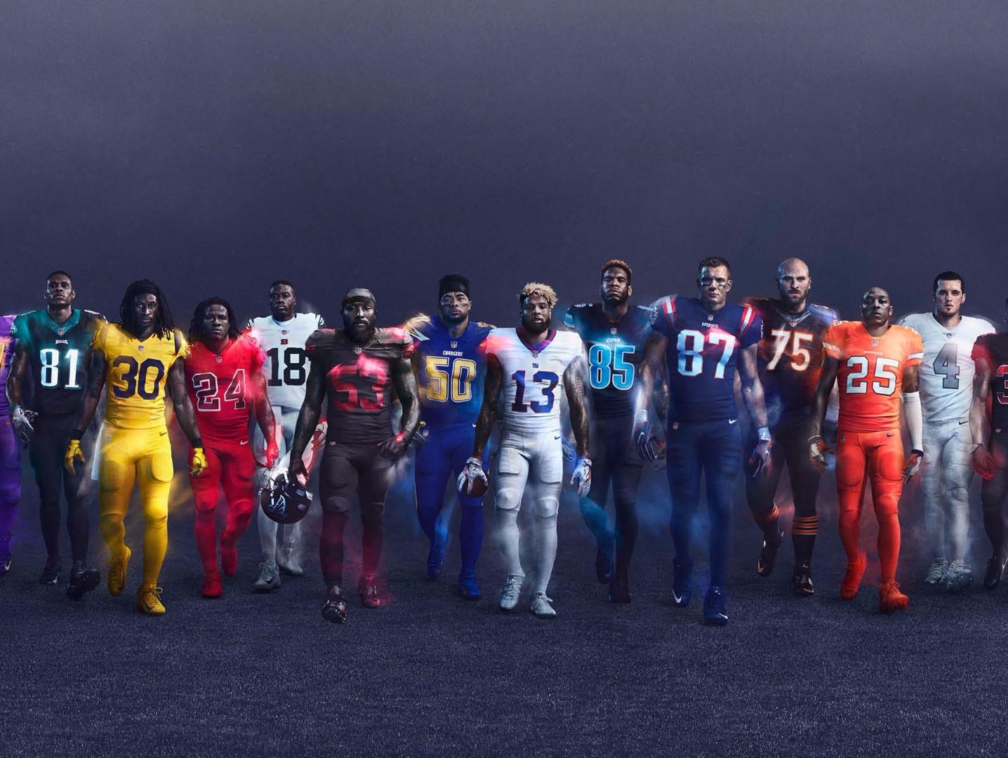 School Closings And Delays >> 2016 NFL 'Color Rush' uniforms | 12NEWS.com