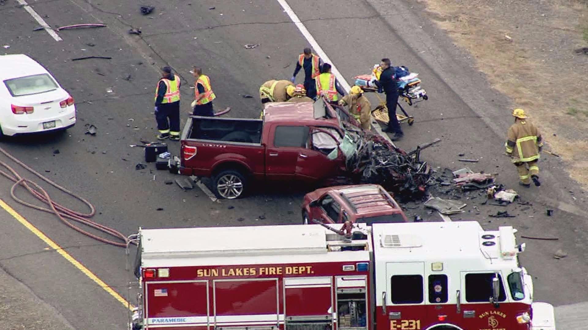Major crash shuts down sr 347 in chandler for Department of motor vehicles chandler az