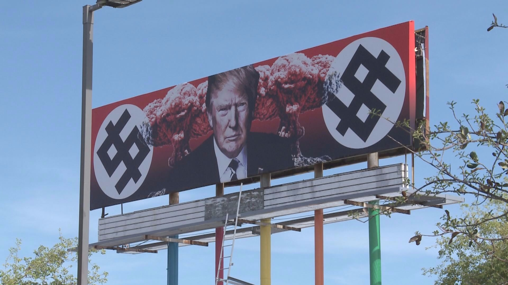 Owner of Phoenix Trump billboard: It will stay up as long as Trump is president