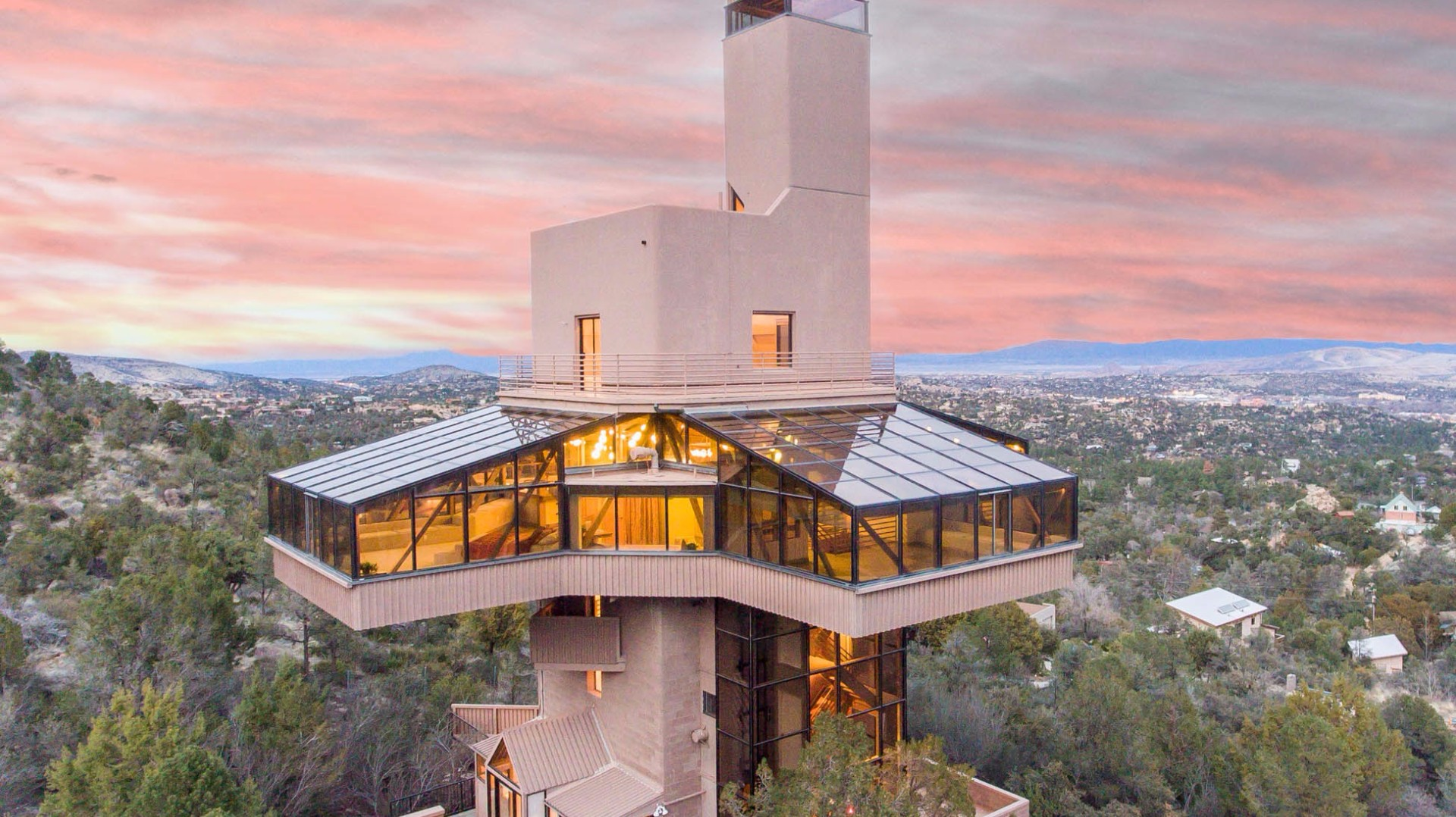 39 world 39 s tallest house 39 for sale in prescott for Prescott architects