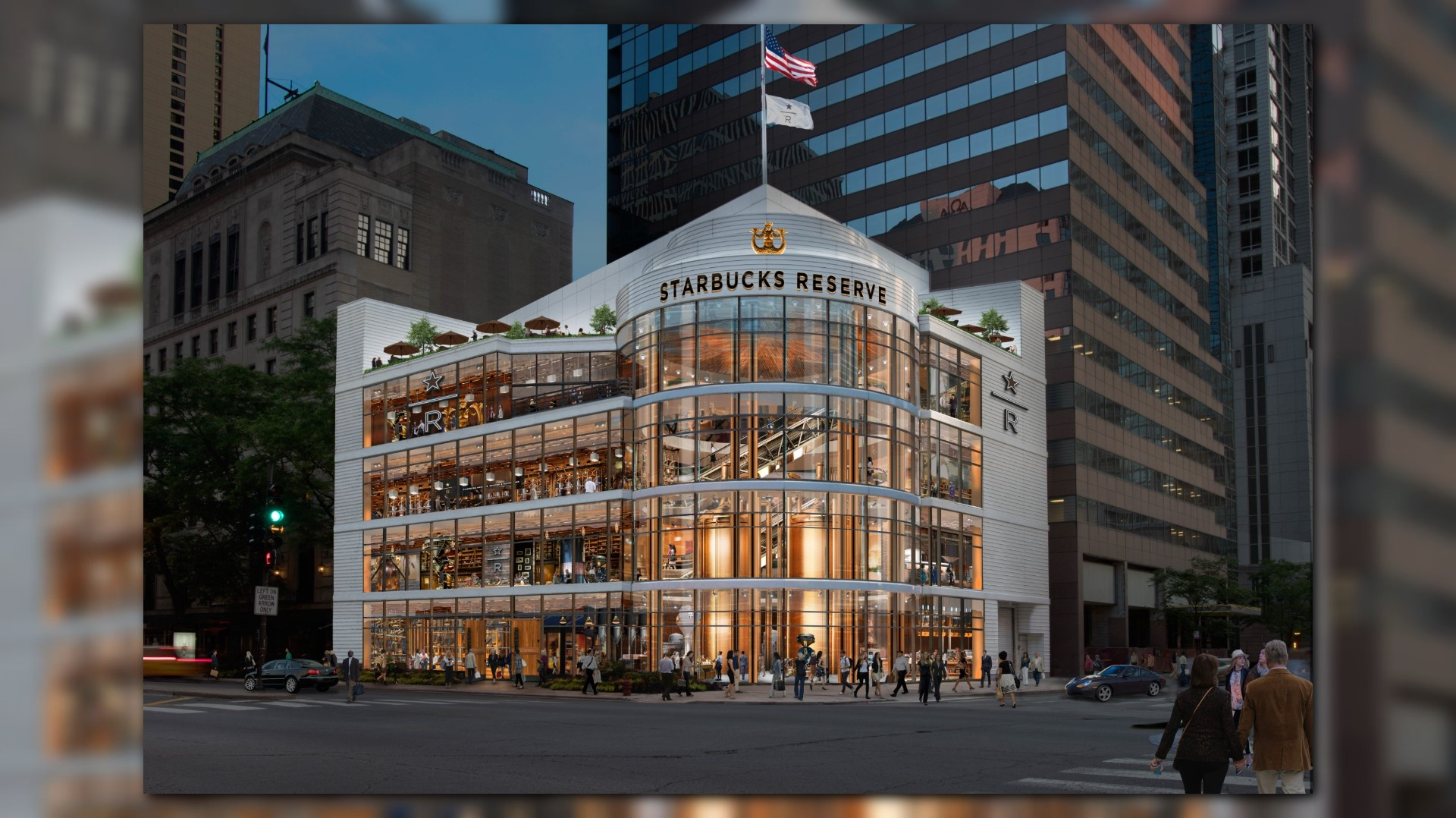 Largest starbucks in the world coming to chicago 39 s for Starbucks in the world