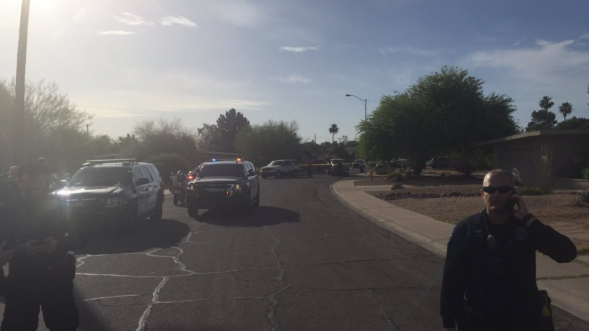 Officer injured suspect dead after shooting for Moon valley motor care