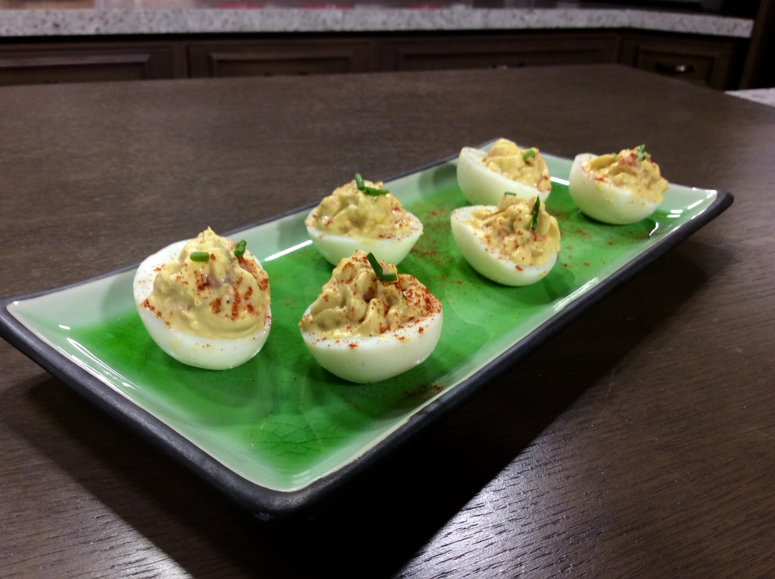 Salmon Deviled Eggs With Homemade Mayonnaise Recipe — Dishmaps