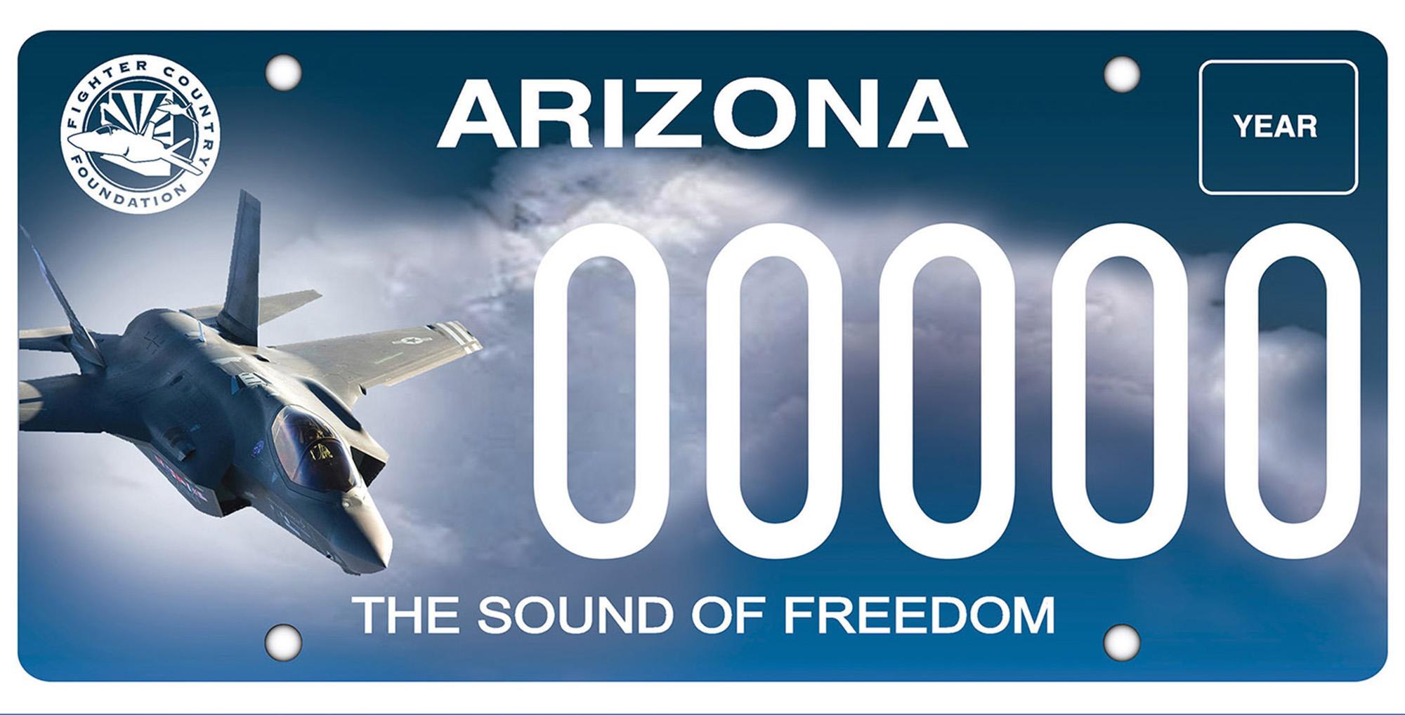 12news Com Adot Rolls Out 3 New Arizona License Plates