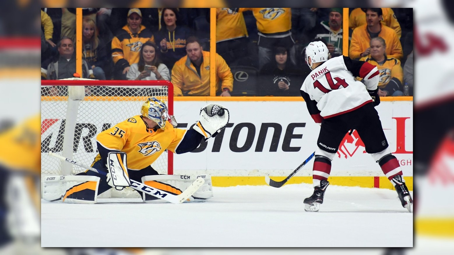 Predators outlast Coyotes in shootout, 3-2