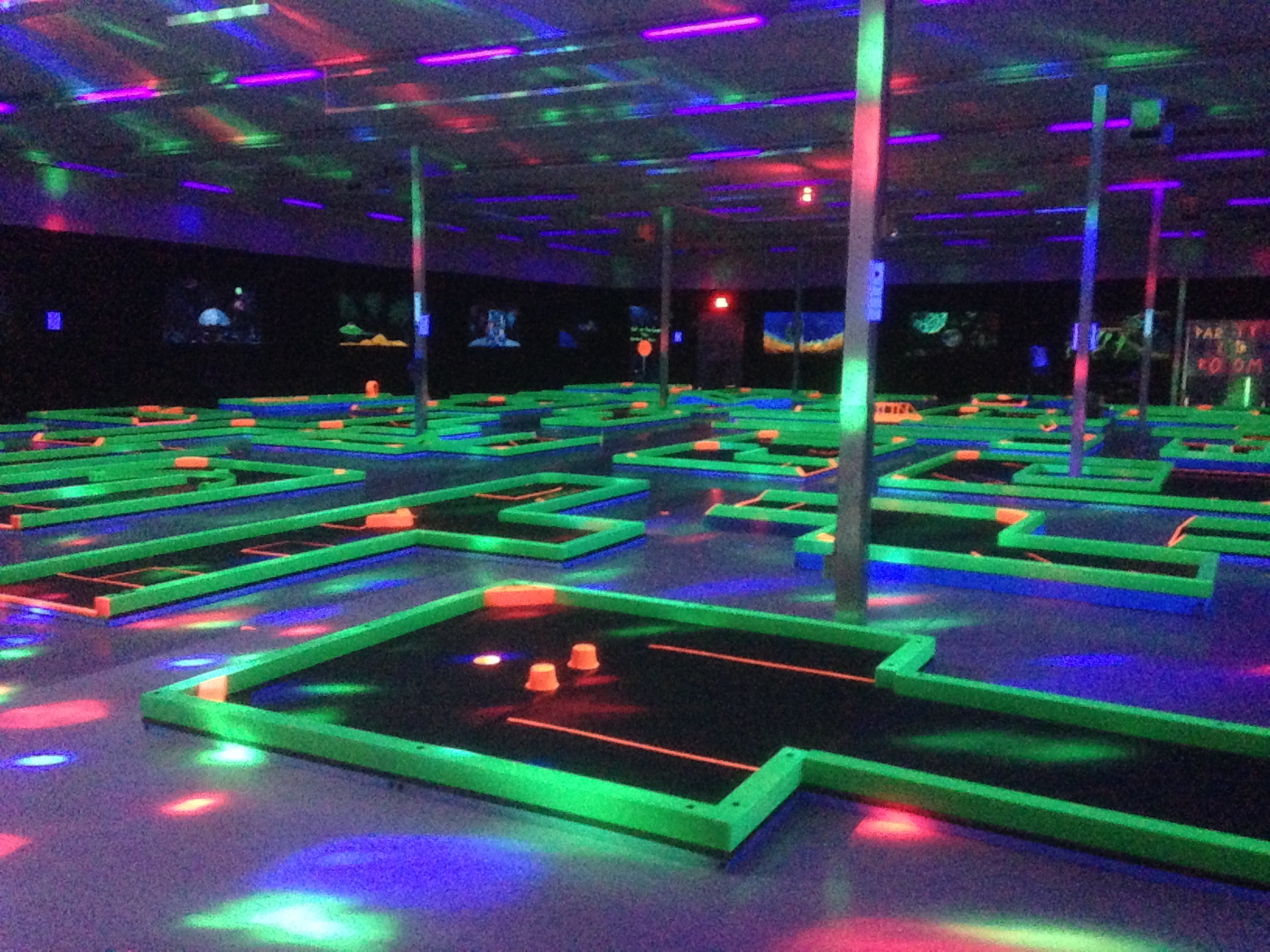 Glow in the dark mini-golf opens in Ahwatukee | 12news.com